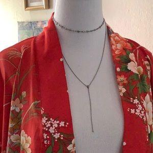 Luv Aj Jewelry - Luv AJ Rococo Choker Lariat Necklace Silver